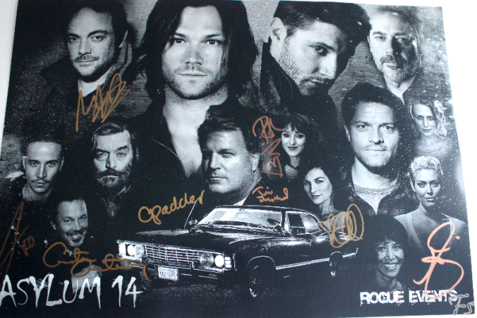 Our autographs-collection :)