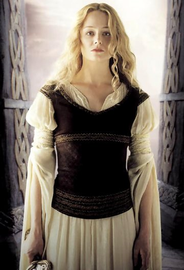 Éowyn, as portrayed by Miranda Otto, in Lord of the Rings film trilogy (source: http://lotr.wikia.com/wiki/%C3%89owyn )