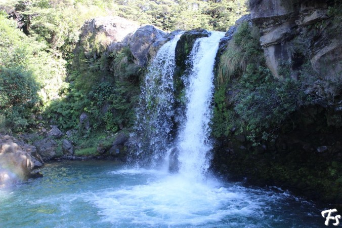 Mangawhero Falls, or, more commonly in geek language, the Forbidden Pool