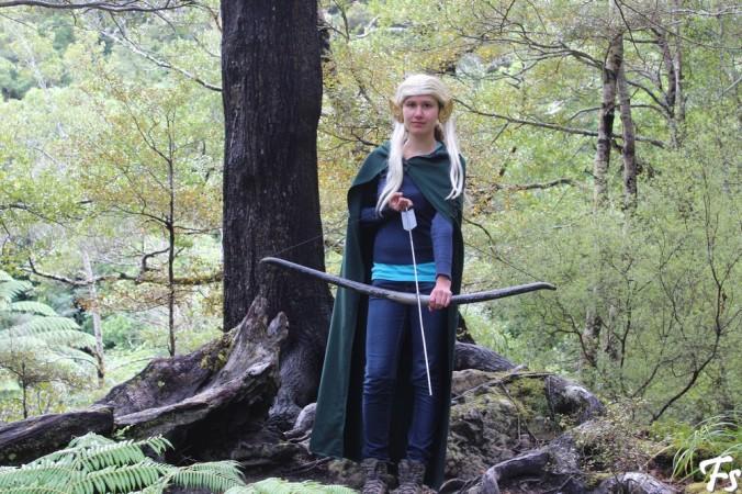 Frodo as Legolas, but prettier, of course