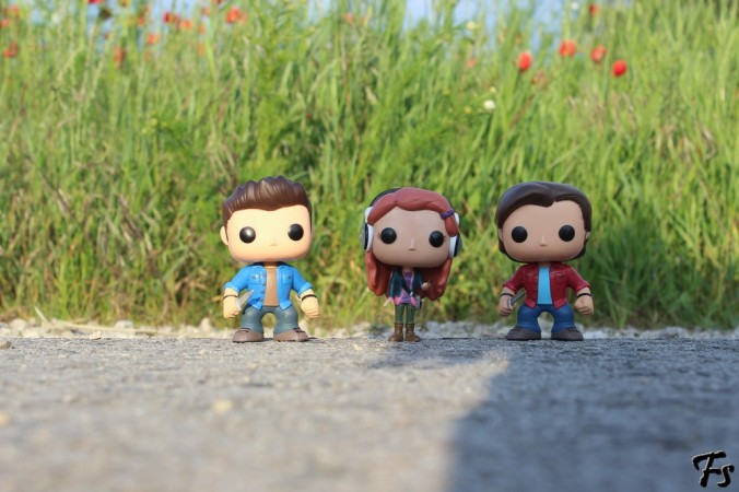 Dean, Charlie and Sam Funko!Pop