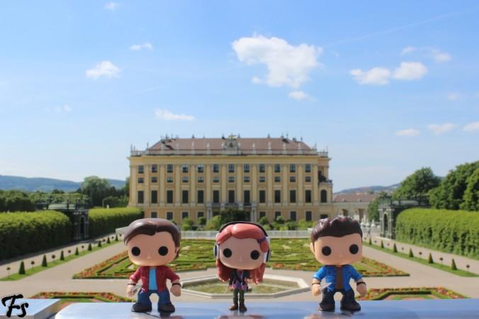 Actual Schloss Schöbrunn