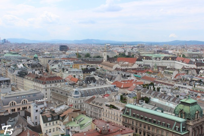 Vienna from high above