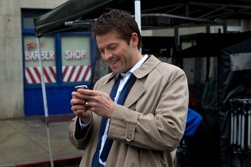 Photo by JACK ROWAND - © ©2011 THE CW NETWORK, LLC. ALL RIGHTS RESERVED. Still of Misha Collins in Supernatural