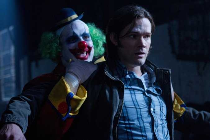 Photo by JACK ROWAND - © ©2011 THE CW NETWORK, LLC. ALL RIGHTS RESERVED. Still of Jared Padalecki in Supernatural