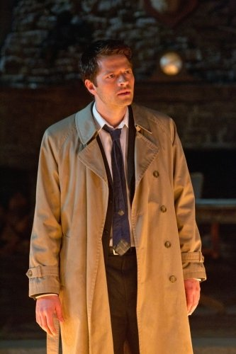 Photo by JACK ROWAND - © ©2011 THE CW NETWORK, LLC. ALL RIGHTS RESERVED. Still of Misha Collins in Supernatural (2011)