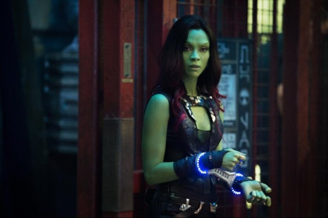 © 2014 - Marvel Studio Still of Zoe Saldana in Guardians of the Galaxy (2014)