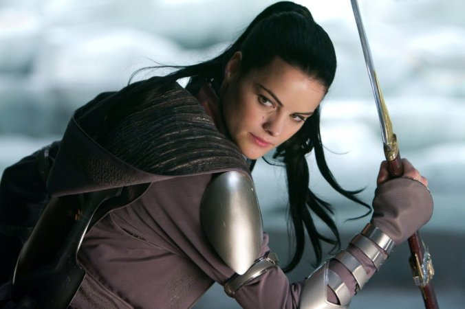 Photo by Zade Rosenthal / M - © 2011 MVLFFLLC. TM & 2011 Marvel. All Rights Reserved. Still of Jaimie Alexander in Thor (2011)